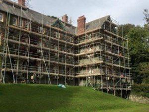 Newton Abbot scaffolding