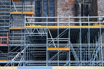 Is Michelangelo the world's most famous scaffolder?