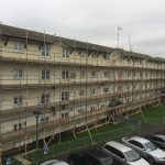plymouth scaffolding project