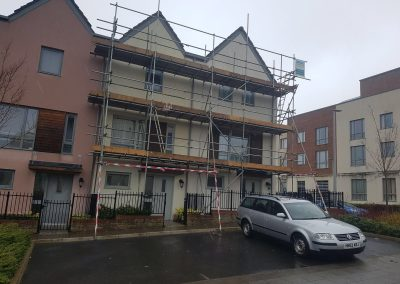 Plymouth residential scaffolding