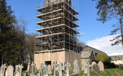Making progress at Walkhampton Church