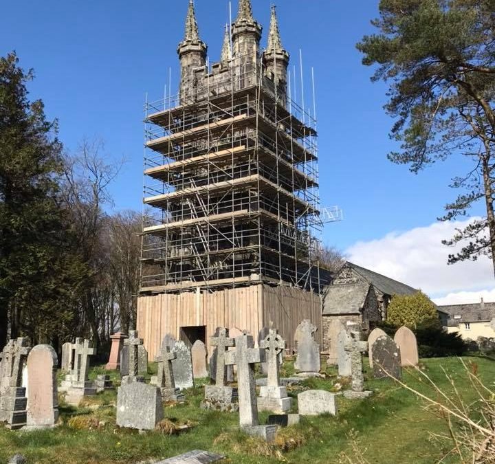 Making progress at Walkhampton Church