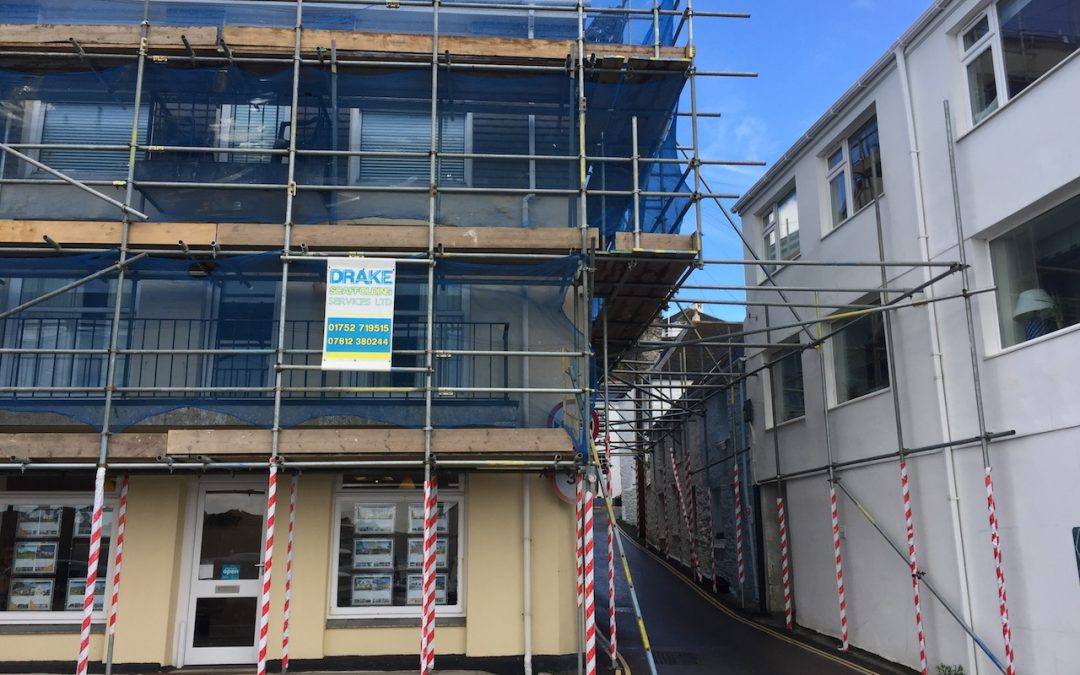 Rely on the experts to fulfil your Plymouth scaffolding requirements