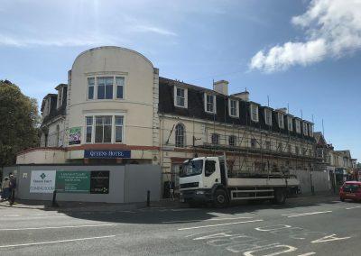 Newton Abbot scaffold project