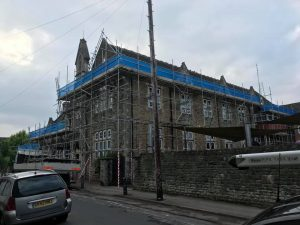 south west scaffolding project