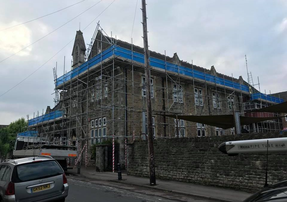 Another South West Scaffolding Project Completed