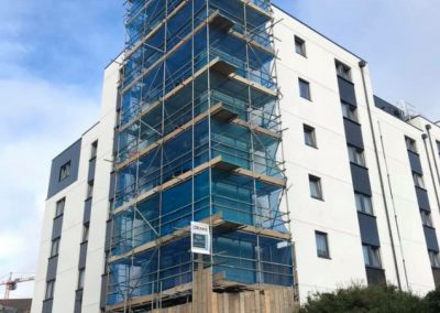 Plymouth Apartment Scaffolding