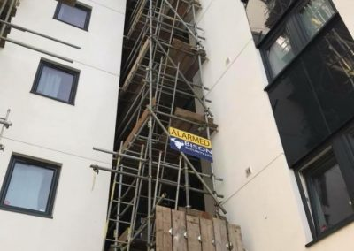 Scaffold for cladding