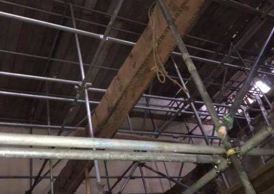Internal scaffolding
