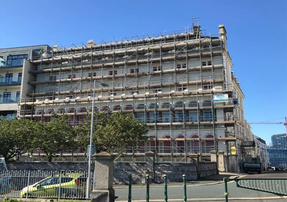 Drake Undertake Large Plymouth Hotel Scaffolding Project