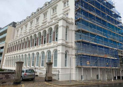 Grand Hotel Plymouth Scaffolding