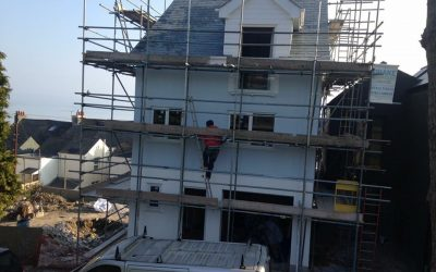Plymouth Scaffolding for Housing Developments