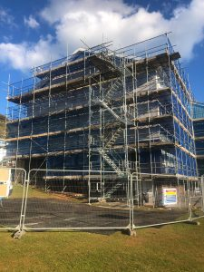 Paignton scaffolding