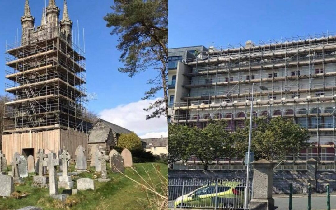 It's been a busy year for Drake Scaffolding