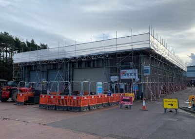Industrial South West scaffolding