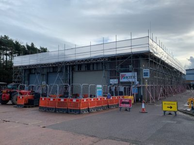 Drake Scaffolding work with South West Water, TJ Smith and Kier