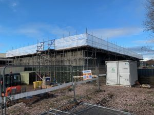 exeter construction scaffolding