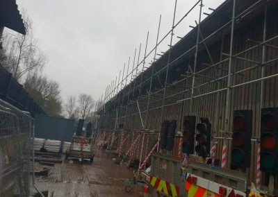 Exeter industrial scaffolding project
