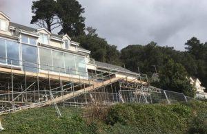 devon scaffolding project