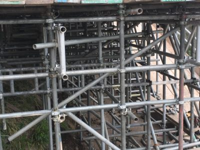 Another Devon Scaffolding Project Completed