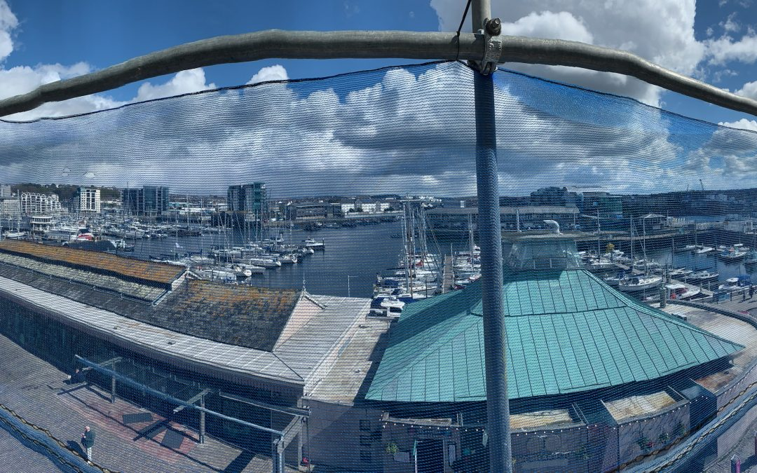 A Plymouth Scaffolding Job With a View