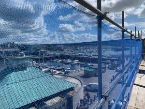 Plymouth scaffolding job