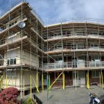 Housing association scaffolding