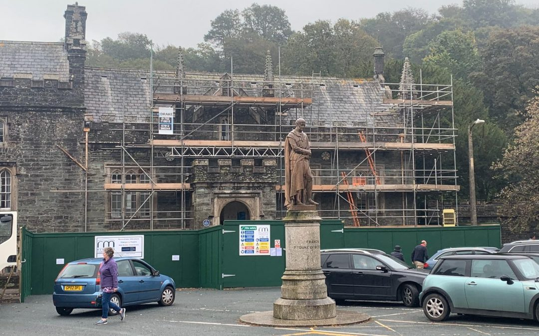 Tavistock Temporary Roofing Project for Local Magistrates Court