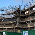 tavistock temporary roofing scaffold