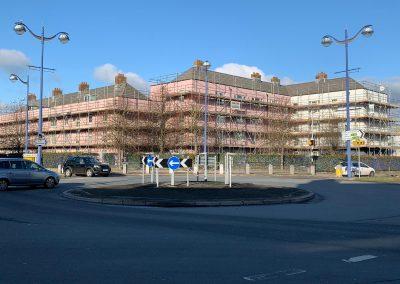 Housing Association Scaffolding Project in Union Street