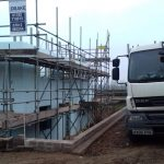 new build scaffolding Devon project