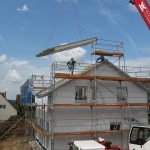 new build south west scaffolding