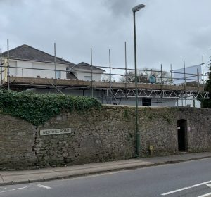 torquay scaffolding project
