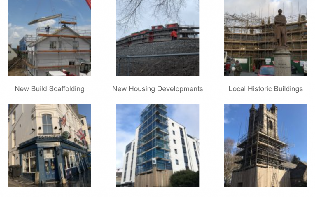 An Extensive Array of Local Scaffolding Projects