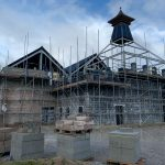 new development scaffolding