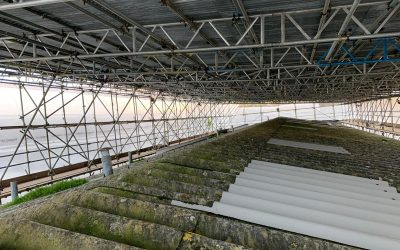 Installing a Temporary Roof in Barnstaple
