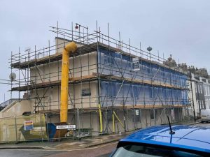 local Plymouth scaffolding