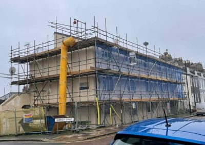 Plymouth scaffold project