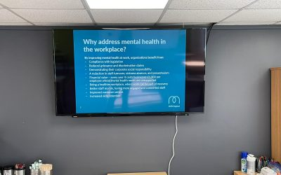 Drake Scaffolding Team Members Attend Mental Health First Aid Training