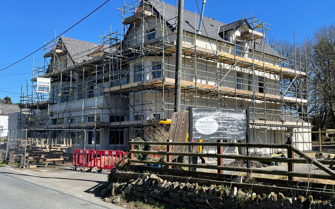 The Burrator Inn, Yelverton Gets a Refit